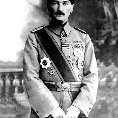 19th May 1919: Mustafa Kemal arrives in Samsun and begins the Turkish War of Independence