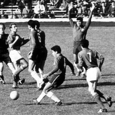2nd June 1962: Chile and Italy meet in the World Cup's violent 'Battle of Santiago'