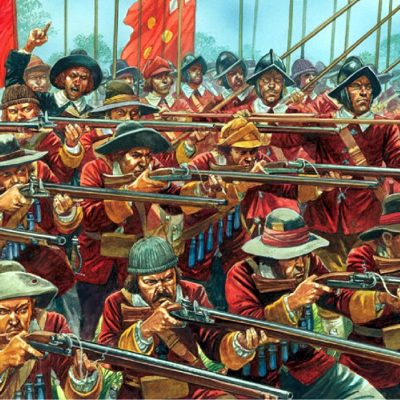 14th June 1645: The Battle of Naseby fought in the English Civil War