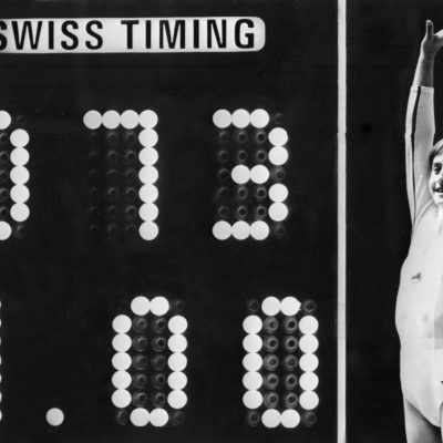 18th July 1976: Nadia Comăneci scores the first ever Olympic gymnastic 'perfect 10'