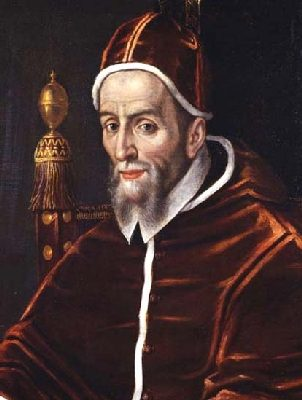 27th September 1590: Pope Urban VII dies, ending the the shortest papal reign in history