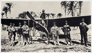 First aircraft in war - Carlo Piazza