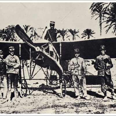 23rd October 1911: Italian Carlo Piazza pilots the first aircraft to be used in war