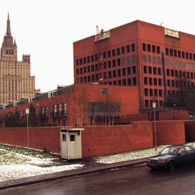 27th October 1988: Ronald Reagan halts construction of the new US embassy in Moscow
