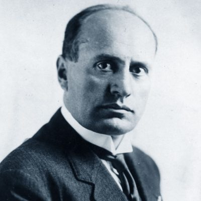 31st October 1922: The cabinet of Benito Mussolini formally takes power in Italy
