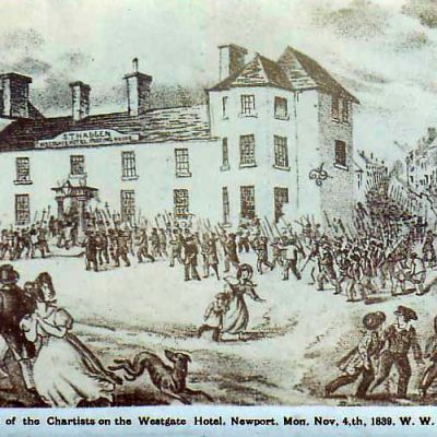 4th November 1839: The Newport Rising armed rebellion takes place in south Wales