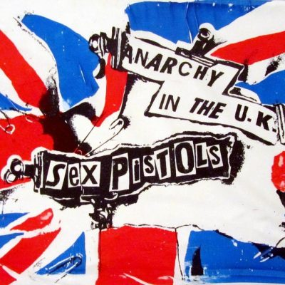 26th November 1976: Sex Pistols release the punk single 'Anarchy in the UK'