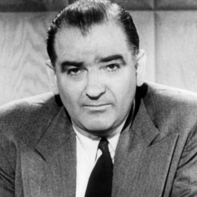 2nd December 1954: US Senator Joseph McCarthy censured by the Senate