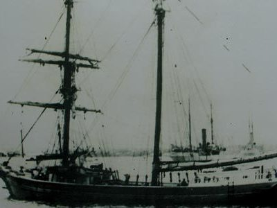 4th December 1872: Deserted US merchant ship Mary Celeste found drifting in the Atlantic