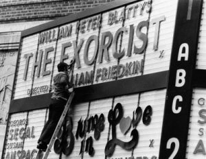 The Exorcist marquee