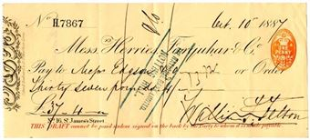 "1st January 1772: First traveller's cheques, known as ""circular notes"", put on sale"