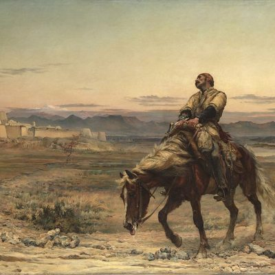 13th January 1842: William Brydon, the sole survivor of 4,500 British soldiers, arrives at Jalalabad in Afghanistan