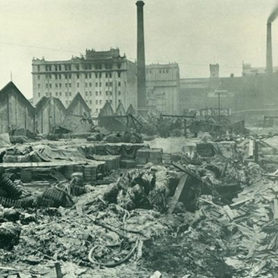 19th January 1917: 73 people killed in the Silvertown munitions factory explosion in London