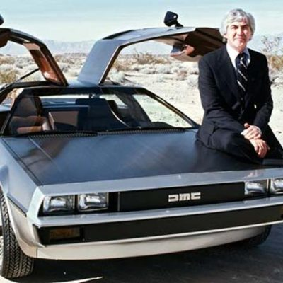 21st January 1981: First DeLorean sports car produced (famous as the 'Back to the Future' car)