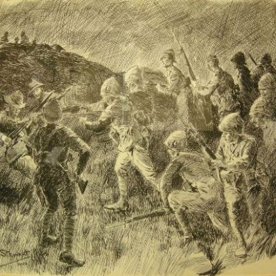 23rd January 1900: British troops launch a nighttime attack on Spion Kop in the Second Boer War