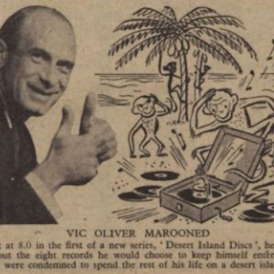 29th January 1942: Desert Island Discs, the longest-running radio show in the UK, first broadcast