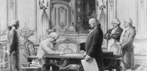 Signing of the Treaty of Amity and Commerce and the Treaty of Alliance