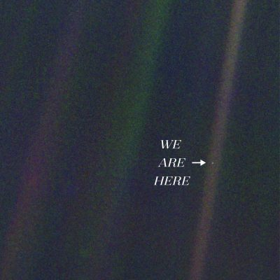 14th February 1990: Voyager 1 creates the 'Pale Blue Dot' image of Earth