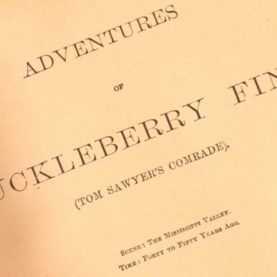 "18th February 1885: Mark Twain's ""Adventures of Huckleberry Finn"" published in the United States"