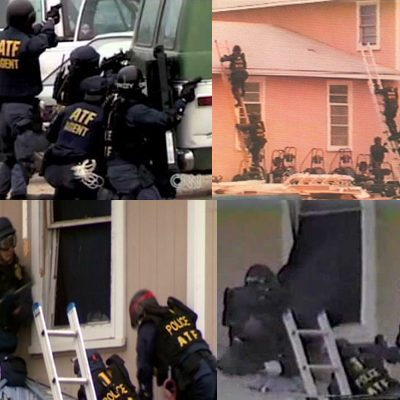 28th February 1993: The Waco siege against the Branch Davidian Church begin in Texas