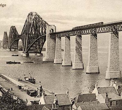 4th March 1890: The Forth Bridge in Scotland opened by the future King Edward VII
