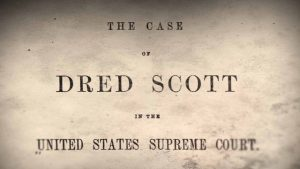 Dred Scott ruling
