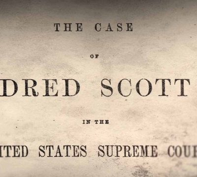 6th March 1857: The US Supreme Court makes its ruling in the Dred Scott case
