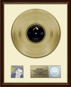 First RIAA gold record