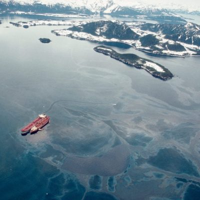 24th March 1989: Start of the Exxon Valdez oil spill disaster in Alaska's Prince William Sound