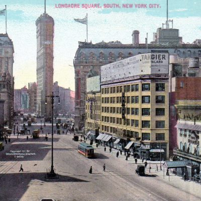 8th April 1904: Times Square in New York given its name