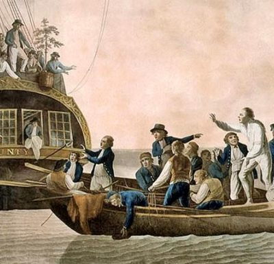 28th April 1789: The crew of HMS Bounty mutiny against Captain William Bligh