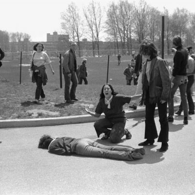 4th May 1970: Ohio National Guardsmen shoot Kent State University students