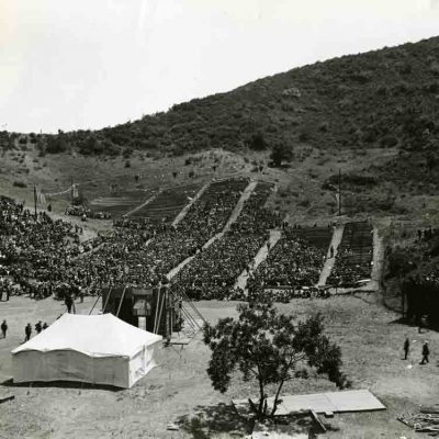 11th July 1922: The Hollywood Bowl opens in Los Angeles