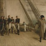 Napoleon surrenders to the British
