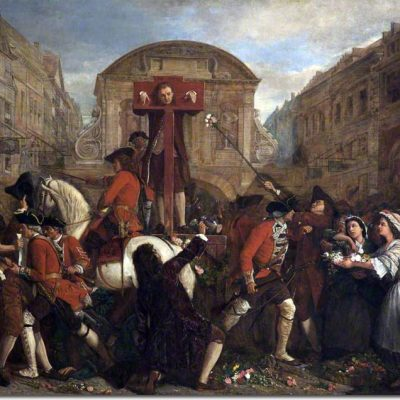 31st July 1703: English writer Daniel Defoe put in the pillory for seditious libel