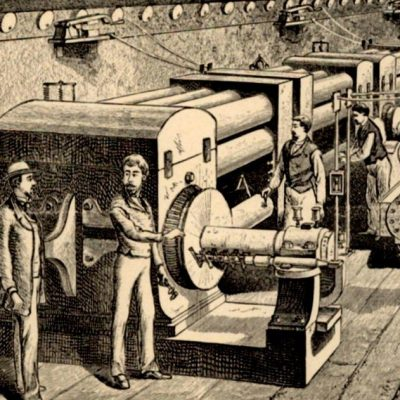 4th September 1882: Thomas Edison opens the world's first power plant on Pearl Street in New York