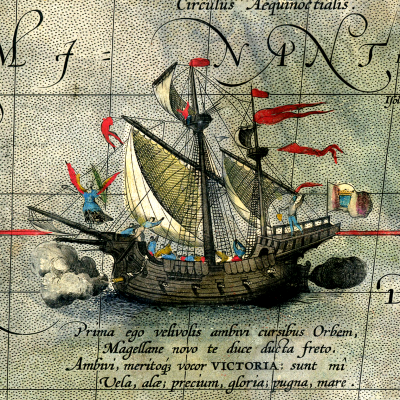 6th September 1522: Victoria becomes the first ship to circumnavigate the world