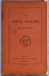First National Geographic Magazine