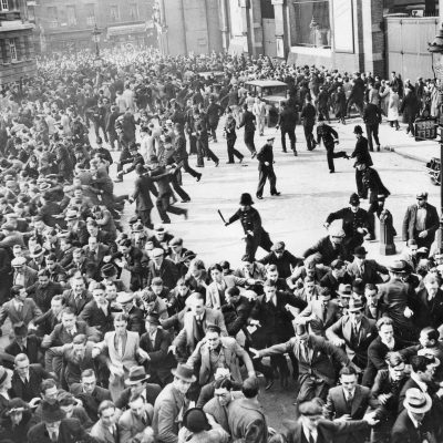 4th October 1936: The Battle of Cable Street took place in London's East End