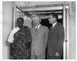 Eisenhower, Nixon and Gbedemah