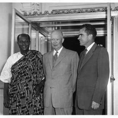 10th October 1957: Eisenhower apologises to Ghanaian minister for racism in Delaware restaurant