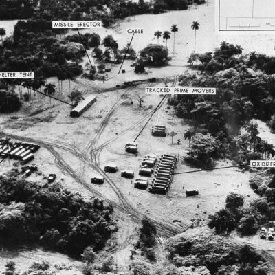 14th October 1962: U-2 spy plane captures images of Cuban missile sites