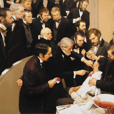 16th October 1846: First public demonstration of ether anaesthesia