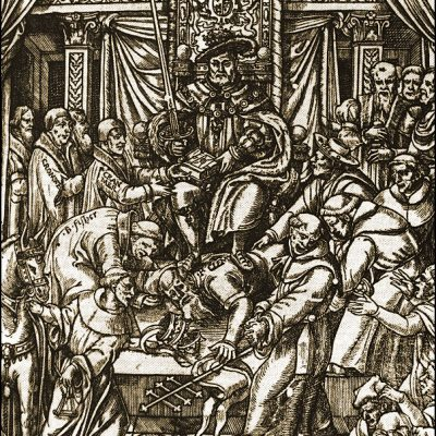 3rd November 1534: English Parliament passes the Act of Supremacy