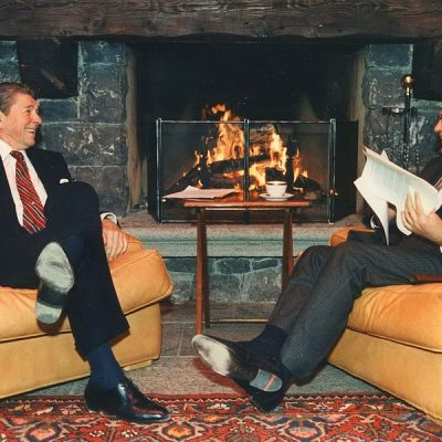 19th November 1985: Reagan and Gorbachev meet for the first time at the Geneva Summit