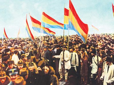 1st December 1918: Unification of Transylvania and the Kingdom of Romania
