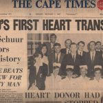 First heart transplant newspaper