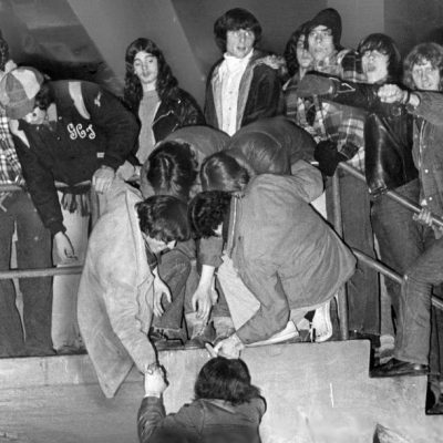 6th January 1975: Led Zeppelin banned from Boston after fans run riot at Boston Garden arena