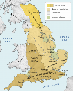 Map of the Danelaw