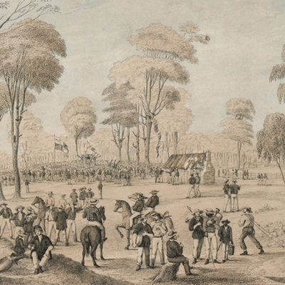 15th December 1851: The Forest Creek Monster Meeting of Australian gold miners protests taxes